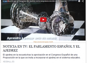 video noticia ajedrez
